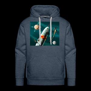 Rockets and Jetpacks - Men's Premium Hoodie