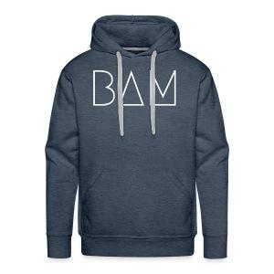 BAM - White - Men's Premium Hoodie