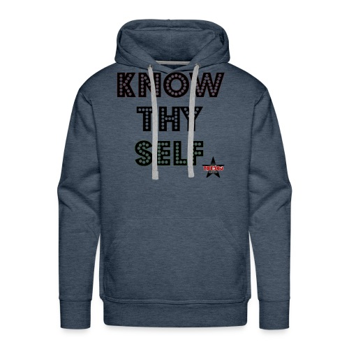 KNOW THY SELF - Men's Premium Hoodie