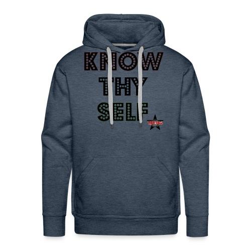 KNOW THY SELF - Men's Premium Hoodie