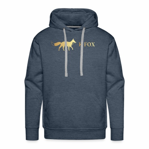 K Fox Black Gold - Men's Premium Hoodie
