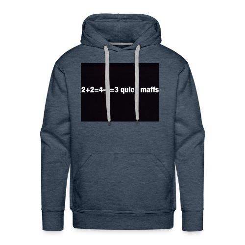 quick maffs - Men's Premium Hoodie