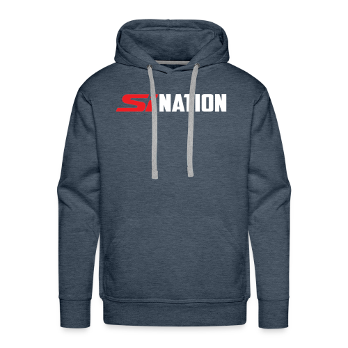 SiNation White - Men's Premium Hoodie