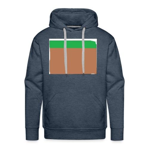 Grass block - Men's Premium Hoodie