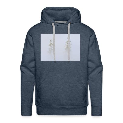misty trees - Men's Premium Hoodie