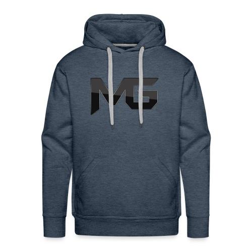 mg logo 2 - Men's Premium Hoodie
