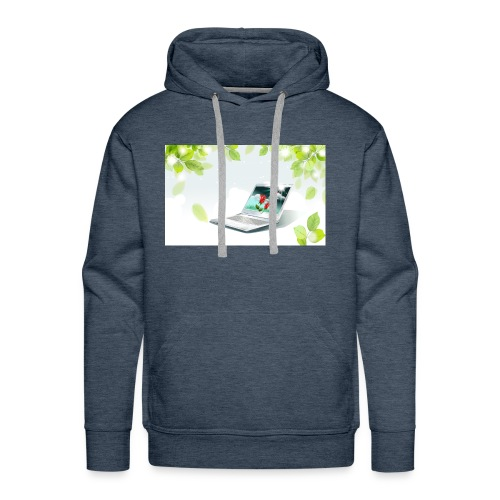 Digital World 63 - Men's Premium Hoodie