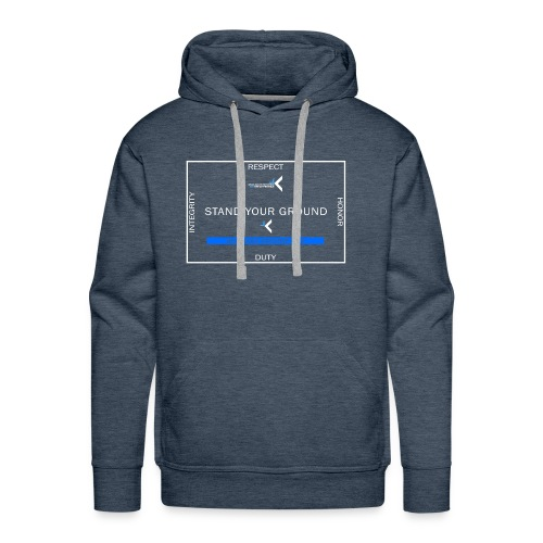Stand Your Ground - Men's Premium Hoodie