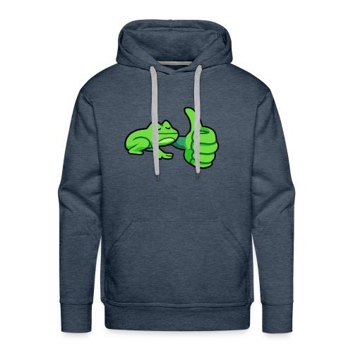 Ribby the Cool Frog - Men's Premium Hoodie