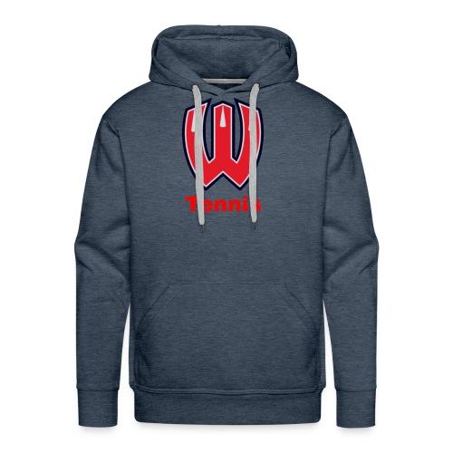 Westview High School Tennis (Red Lettering) - Men's Premium Hoodie