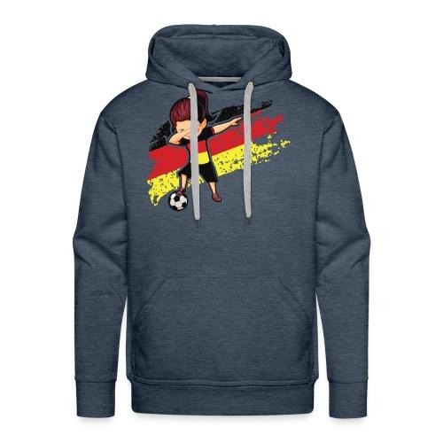 Germany flag t shirt - Men's Premium Hoodie