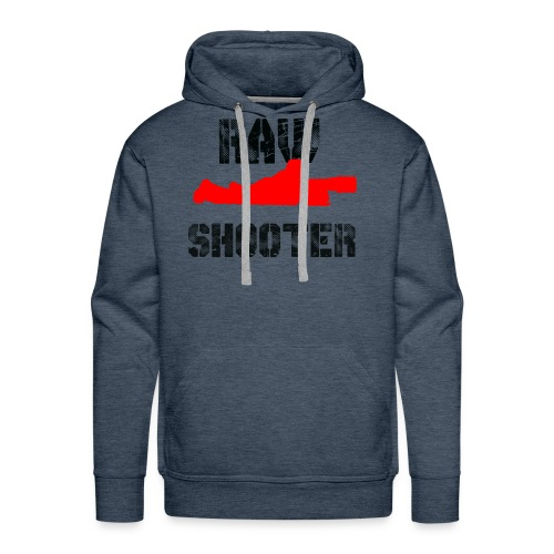 Raw Shooter - Men's Premium Hoodie