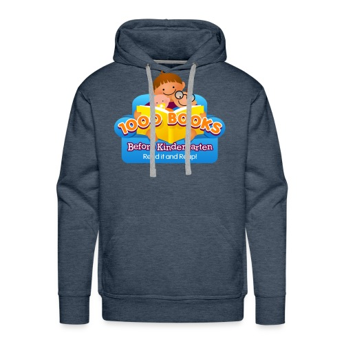 1000 Books Before Kindergarten - Men's Premium Hoodie