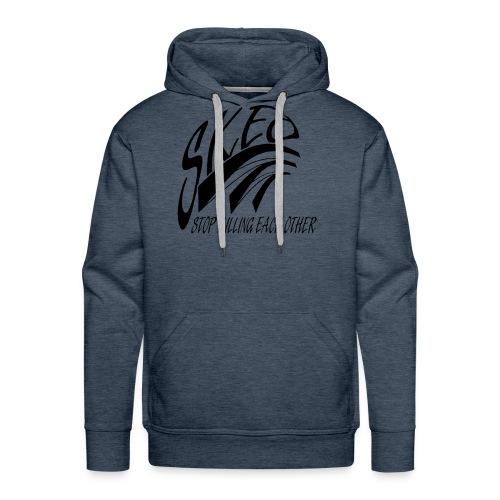 SKEO - Black - Men's Premium Hoodie