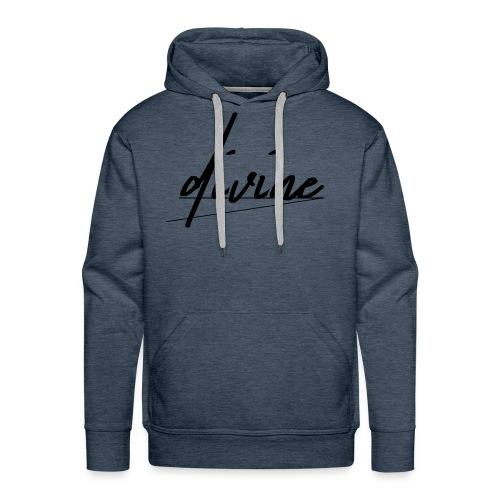 DIVINE_CURSIVE_LINES - Men's Premium Hoodie