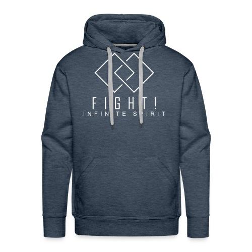 Fight. Infinite Spirit (Fight The Cancer) - Men's Premium Hoodie