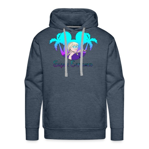 Super Enthused Florida Love - Men's Premium Hoodie
