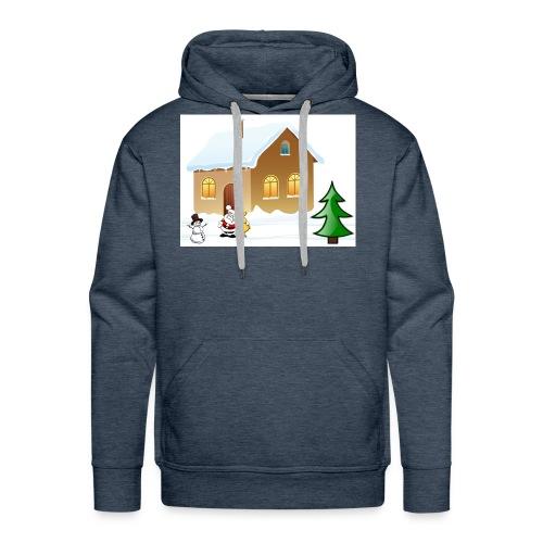 Marry_Christmas - Men's Premium Hoodie