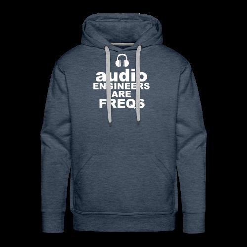 Audio Freqs - Men's Premium Hoodie