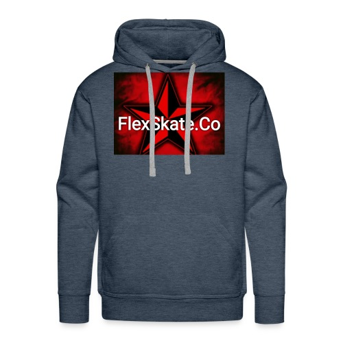 FlexSkate.Co Logo #3 - Men's Premium Hoodie