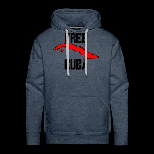 Free Cuba Red - Men's Premium Hoodie