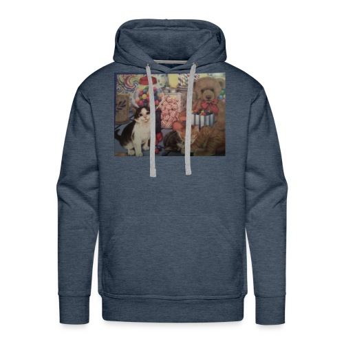Candy and animals - Men's Premium Hoodie