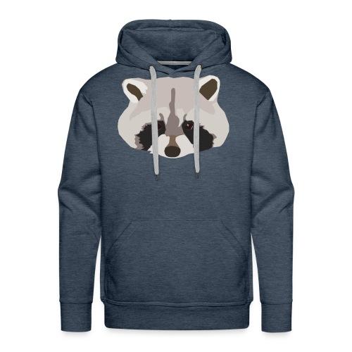 Raccoon - Men's Premium Hoodie