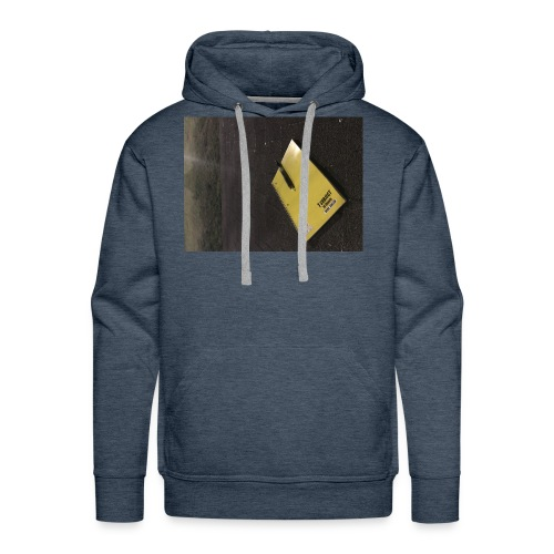 The Beginning is Never the End - Men's Premium Hoodie