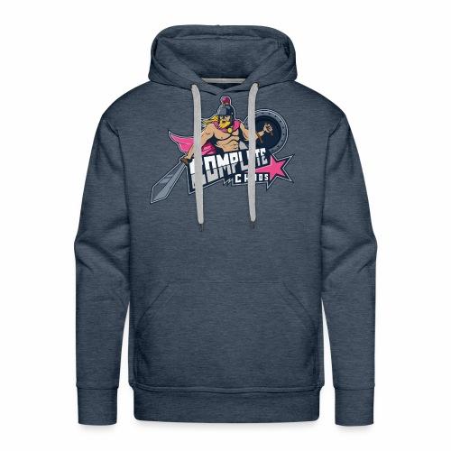 Complete Chaos - Pink - Men's Premium Hoodie