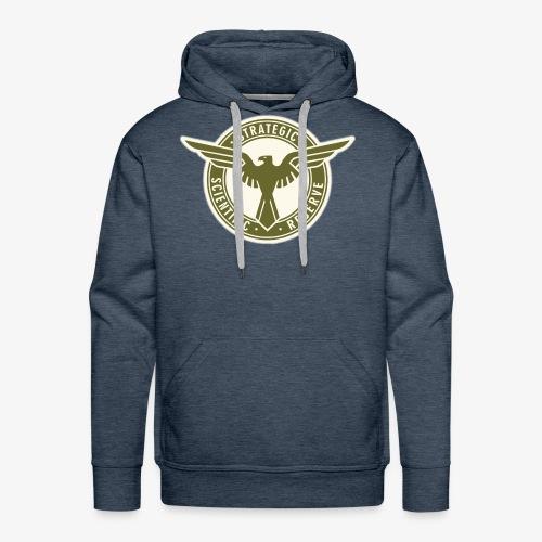 SSR in Army Green - Men's Premium Hoodie