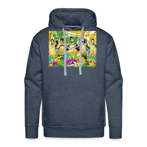 brazil world wear - Men's Premium Hoodie