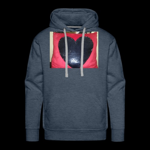 Heart pillow - Men's Premium Hoodie