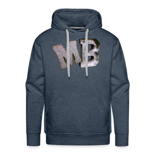 MB logo - Men's Premium Hoodie