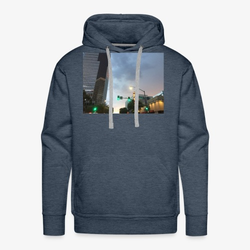 Tucson Rainy Weather - Men's Premium Hoodie