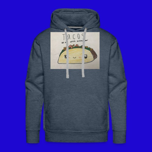 Tacos are my Spirit Animal - Men's Premium Hoodie