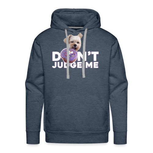 Popeye Don't Judge - Men's Premium Hoodie