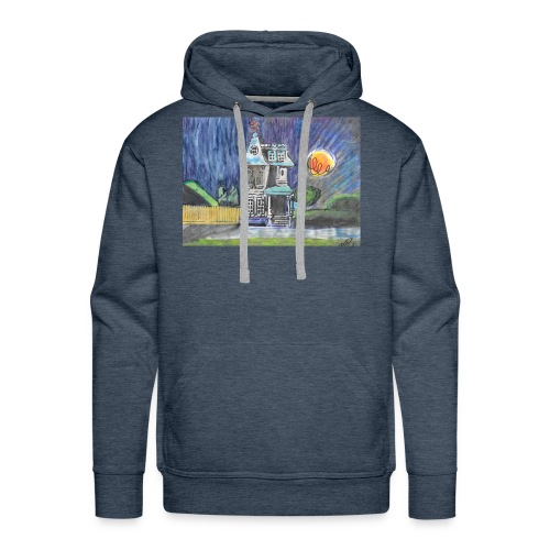 THE PINWHEEL HOUSE - Men's Premium Hoodie