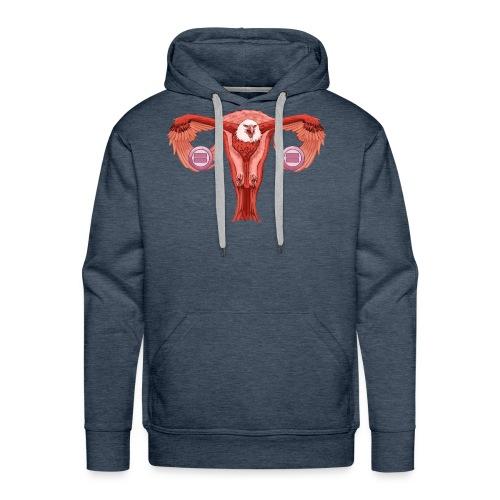 Eagle Uterus - Men's Premium Hoodie