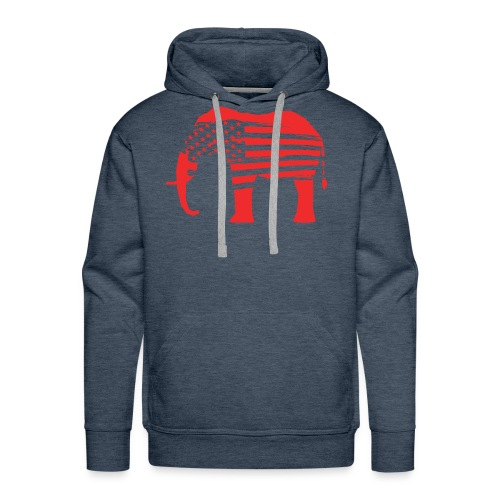 The Red Elephants Official Logo - Men's Premium Hoodie