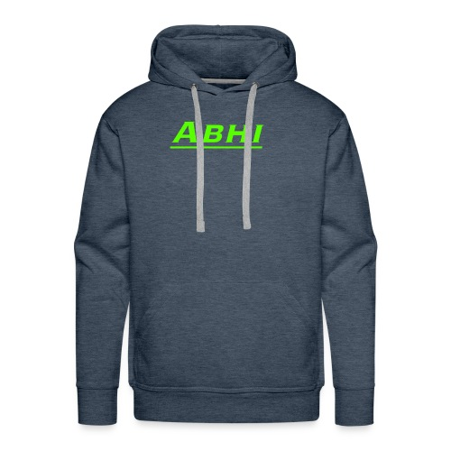 Abhi Official Merch (any color u chose) - Men's Premium Hoodie