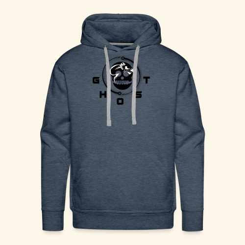 GREY GHOST2 01 - Men's Premium Hoodie