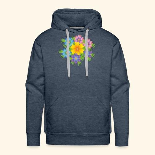 flower1 - Men's Premium Hoodie