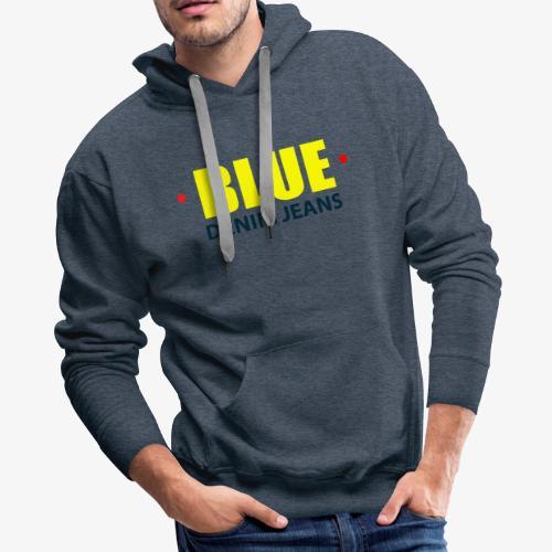 Blue blue jeans Official logo - Men's Premium Hoodie