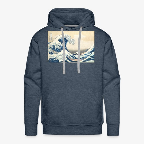 Basic waves - Men's Premium Hoodie