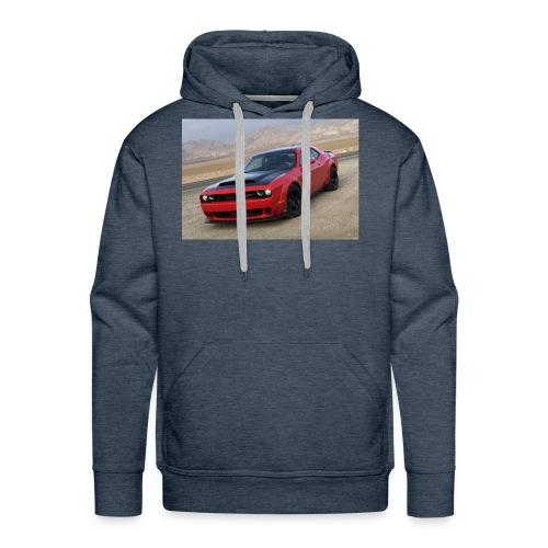 2018 Dodge Demon Prairie Front - Men's Premium Hoodie