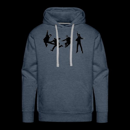beatles jump - Men's Premium Hoodie