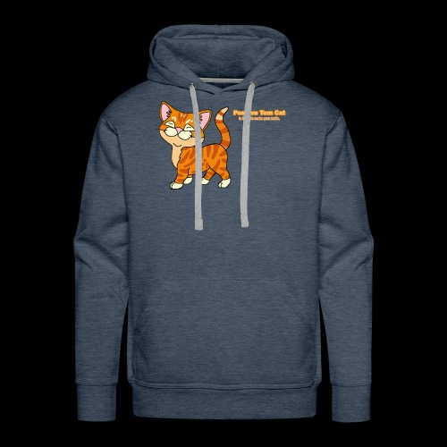 Smiling Tom, The Positive Tom Cat - Men's Premium Hoodie