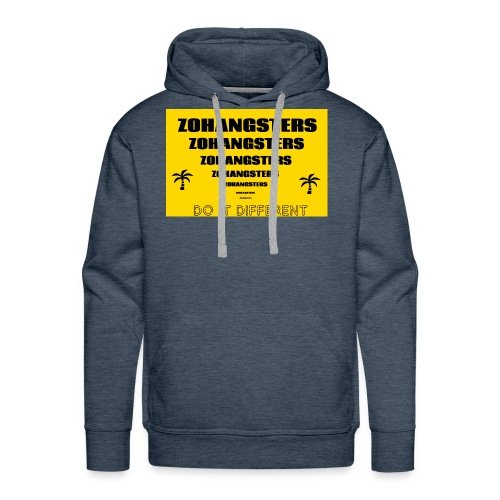 Big To Small ZOHANGSTERS TEE - Men's Premium Hoodie