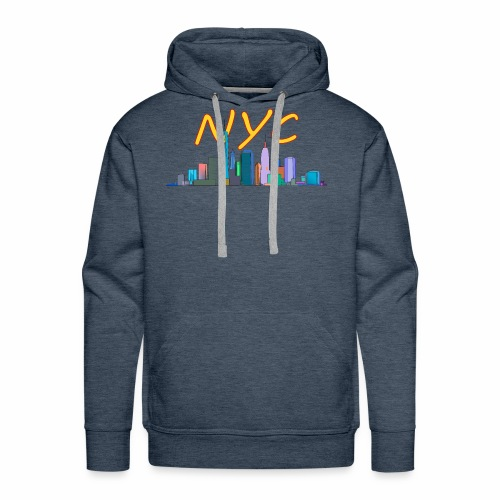 New york my love - Men's Premium Hoodie