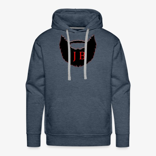 JBisHERE Logo - Men's Premium Hoodie
